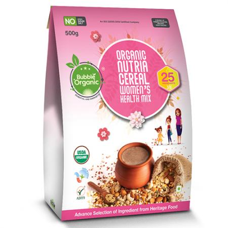 BO Nutria Cereal Women's Health Mix (500g) Front