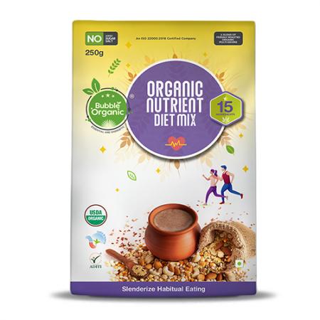 BO Nutrient Diet Mix (250g) Front
